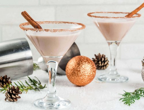 Western Eggnog Cocktail