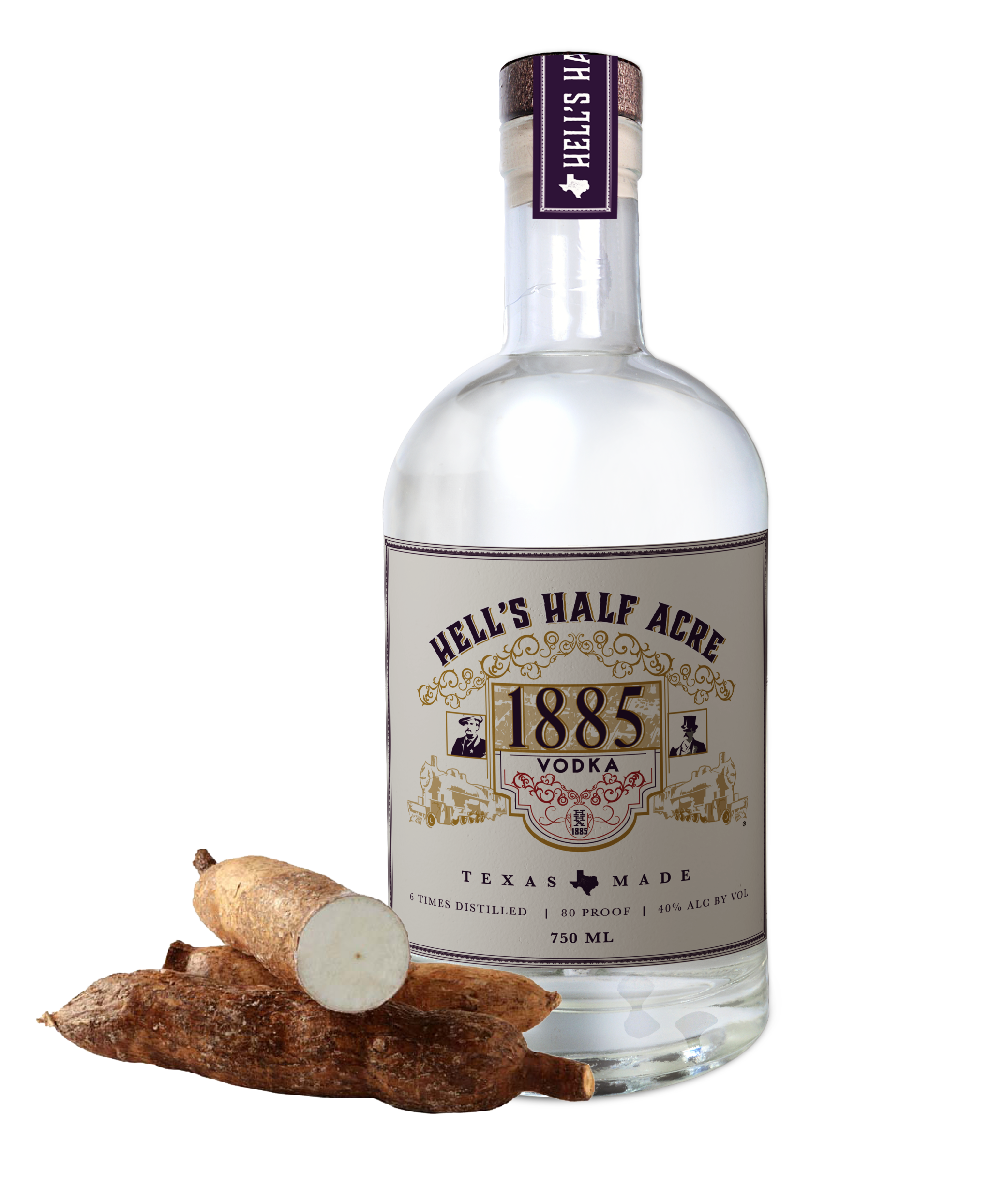 Hells Half Acre vodka